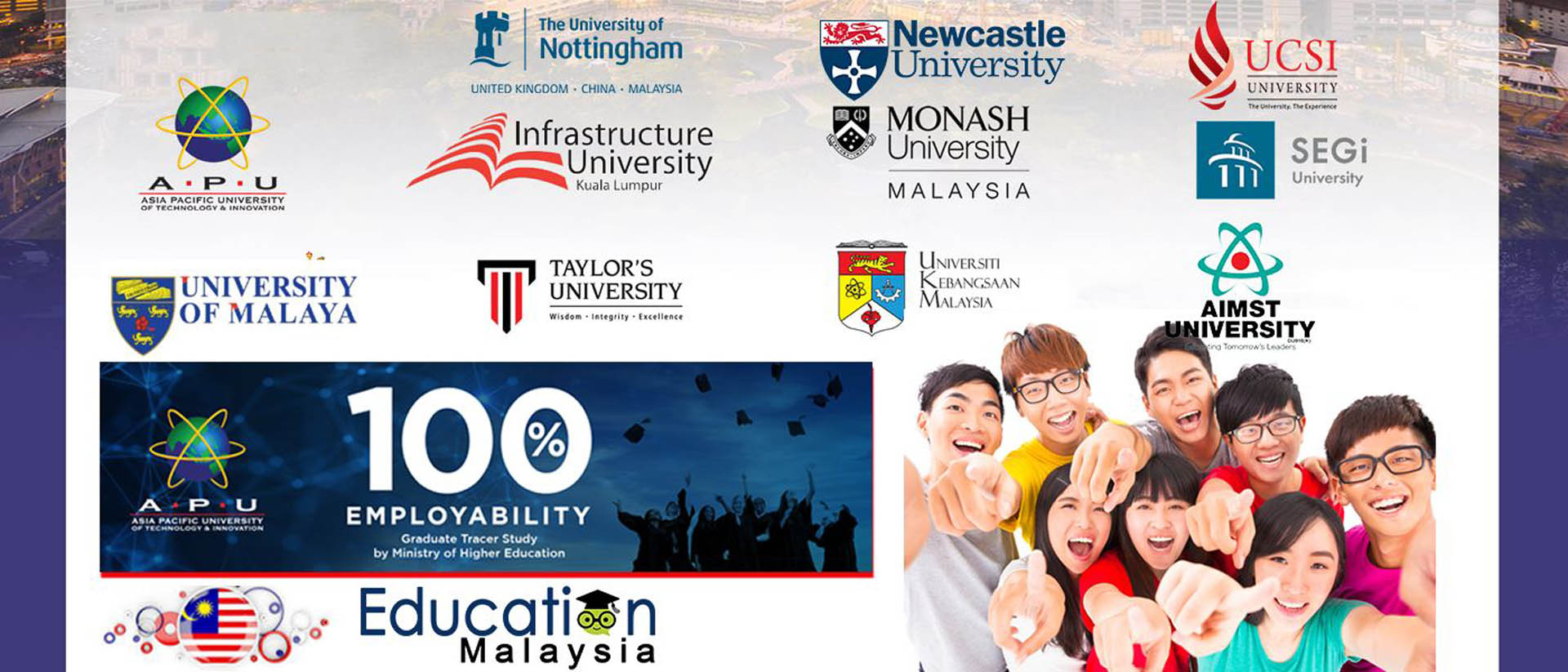 education study in malaysia with top universities